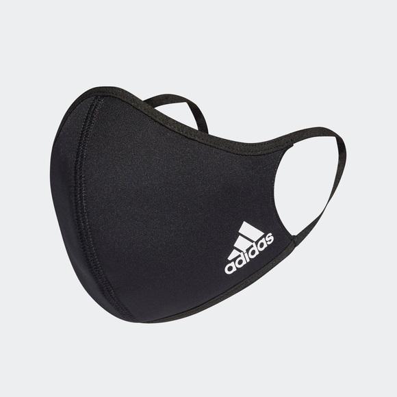 Adidas Face Mask- Size Large - Black - Bra…